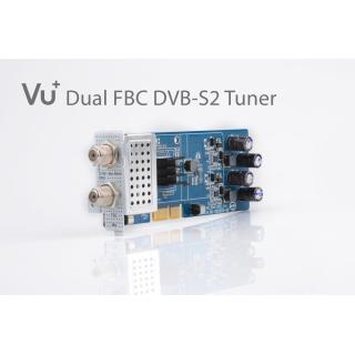 VU+ DVB-S2 FBC Twin Tuner Uno 4K / Ultimo 4K ( 8 Demodulator )