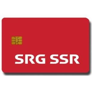 SSR/SRG HD ( isviçre ) 1 Yıllık Abonelik Kartı )