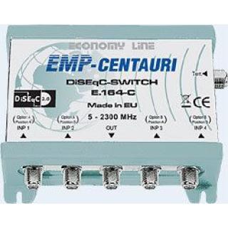 EMP 4 x 1 + RF DiSEqC Switch