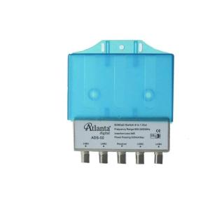 Atlanta 1 x 4 ADS-02 Disecq Switch ( Koruma Kapaklı )