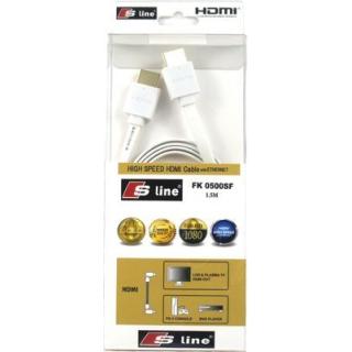 HDMI KABLO 1.5MT S-LİNE FK0500SF 1.4 V GOLD
