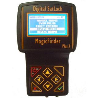 Magic Finder PLUS 3 Uydu Bulucu