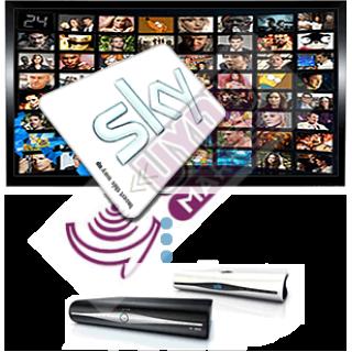 SkyUK Full HD 1 Yıllık Yasal Abolik Kartı + HDSkyBox