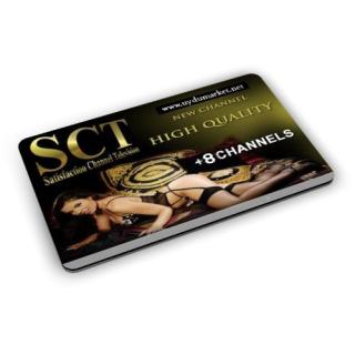 SCT HD 1 Yıllık Yasal Abonelik Kartı ( Viacces )