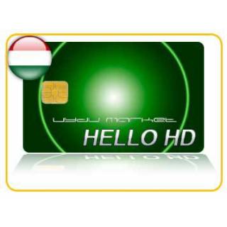 Hello HD Royal Paket ( 1 Yıllık Full Macaristan Paketi Yasal Abonelik Kartı )
