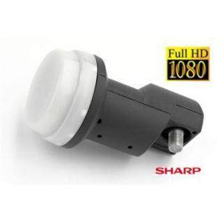 Sharp Universal Single Full HD LNB ( Gerçek Beyaz Sharp )