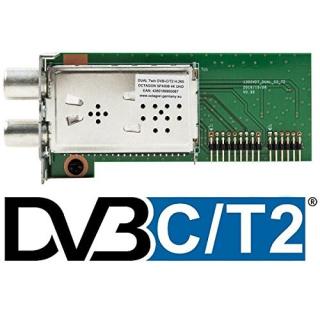 Octagon SF4008 DVB-C DVB-T2 4K UHD Dual Hybrid Tuner