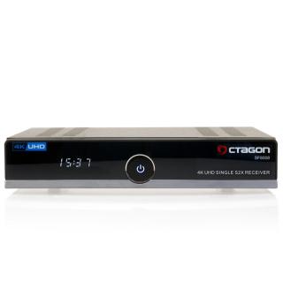 OCTAGON SF8008 4K UHD E2 DVB-S2X Single Uydu Alıcısı