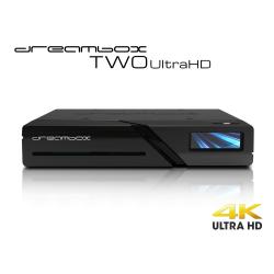 Dreambox Two Ultra HD BT 2x DVB-S2X MIS Tuner 4K 2160p E2 Linux Dual Wifi H.265
