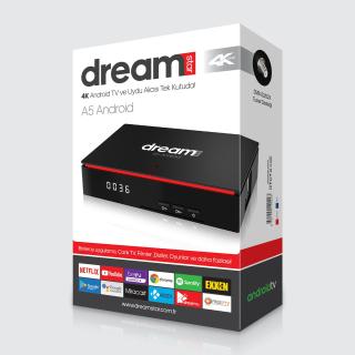 Dreamstar A5 Android 9.0 4K Uydu Alıcısı