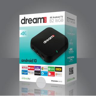 Dreamstar B2 16GB Android 10 TV Box