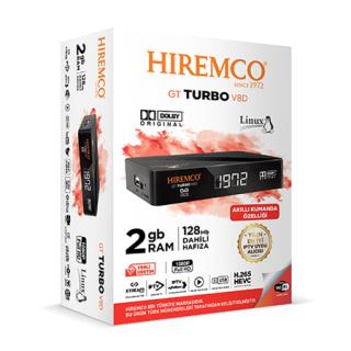 Hiremco Gt Turbo V8D Full HD Uydu Alıcısı