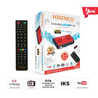 Hiremco Combo King Plus HD Uydu Alıcısı
