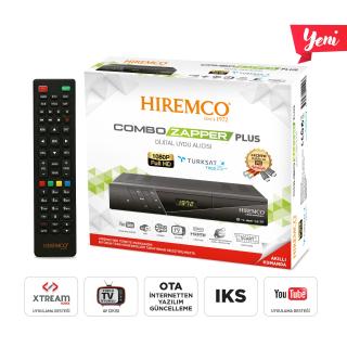 Hiremco Combo Zapper Plus HD Uydu Alıcısı