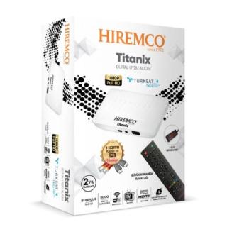 Hiremco Titanix Full HD Uydu Alıcısı