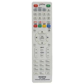 Huayu HL-1340E TV-LCD-Uydu-DVD Öğrenebilen Netflix-Youtube-Amazon Tuşlu Akıllı Kumanda