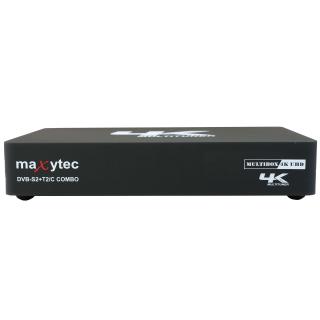 Maxytec Multibox 4K UHD Combo Android & Enigma2 Uydu Alıcısı