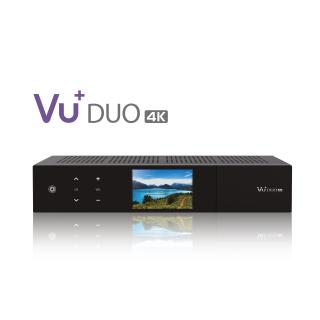 VU+ Duo 4K DVB-S2X FBC Twin Tuner